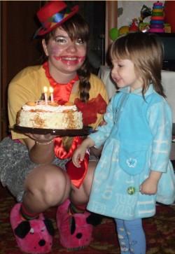день рождения с клоуном сценарий