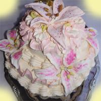 торт для цветочной вечеринки