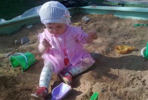 игры с песком