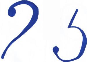 Заколдованные цифры 2 и 5