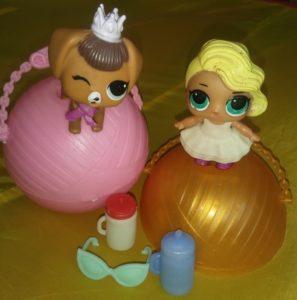 кукла шар lol