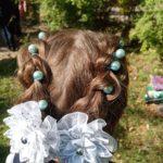 Праздничная причёска для девочки